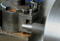 Lathe Royalty Free Stock Photography