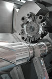 Lathe, CNC milling Royalty Free Stock Photo