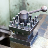 Lathe, CNC milling machine Royalty Free Stock Photo