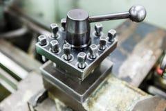 Lathe, CNC milling machine Royalty Free Stock Images