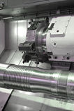 Lathe, CNC milling Royalty Free Stock Image