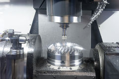 Lathe, CNC milling. Photo of Lathe, CNC milling Stock Image
