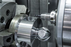 Lathe, CNC milling Stock Photography