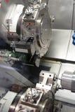Lathe, CNC milling Royalty Free Stock Images