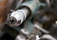 Lathe Detail Royalty Free Stock Photos