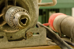 Lathe detail Royalty Free Stock Images