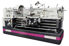 Lathe. The image of a lathe stock images