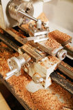 Lathe machine Royalty Free Stock Photos