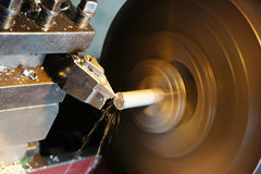Lathe machine Royalty Free Stock Photography