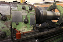 Lathe machine Stock Image