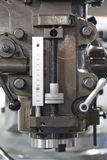 Lathe Machine. In Vertical View Stock Photography