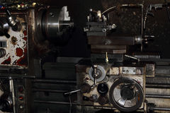 Lathe old  machine. Stock Photography