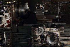 Lathe old  machine. Stock Photography