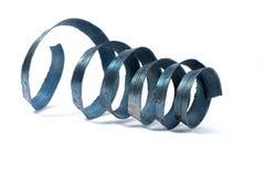 Lathe spiral metal shavings Royalty Free Stock Photo