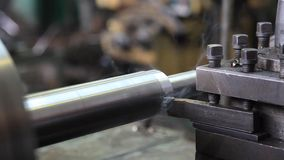 Lathe stock footage