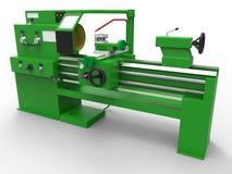 Lathe turning machine Stock Photo
