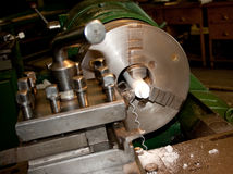 Lathe work Stock Photos