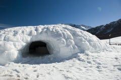 lathuile валы снежка наклонов Стоковое Изображение