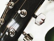 Lati di una chitarra fotografia stock libera da diritti