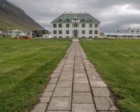 Latifondo Isafjordur Islanda Fotografia Stock Libera da Diritti
