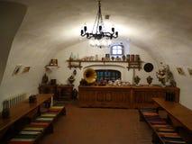 latifundiário da sala do chá em Suzdal fotografia de stock