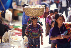 LATIJNS AMERIKA GUATEMALA CHICHI Stock Afbeeldingen