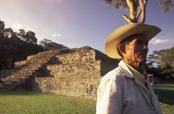 LATIJNS AMERIKA HONDURAS COPAN Royalty-vrije Stock Fotografie