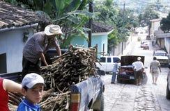 LATIJNS AMERIKA HONDURAS COPAN Stock Foto's