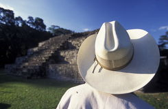 LATIJNS AMERIKA HONDURAS COPAN Stock Afbeelding