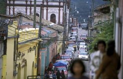 LATIJNS AMERIKA HONDURAS GARCIAS Stock Foto's
