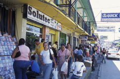 LATIJNS AMERIKA HONDURAS TELA Stock Foto