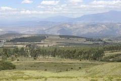 Latijns-Amerikaanse schilderachtige bergmening Stock Foto