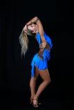 Latijnse danser Royalty-vrije Stock Foto's