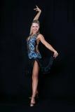 Latijnse danser Royalty-vrije Stock Foto