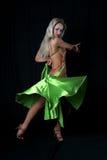 Latijnse danser Stock Foto's