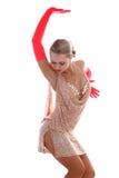 Latijnse danser Royalty-vrije Stock Fotografie