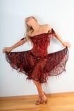 Latijnse danser Royalty-vrije Stock Afbeelding