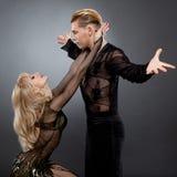 Latijnse dansers Stock Afbeeldingen