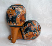 Latijnse muziekinstrumenten 1 stock afbeelding