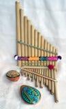Latijnse muziekinstrumenten 2 stock foto's