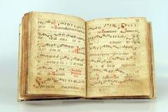 Latijnse songbook Stock Foto