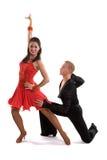 Latin 07 de danseurs de salle de bal Image libre de droits