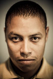 Latin afro-american portrait Royalty Free Stock Photography
