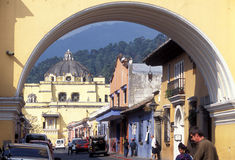 LATIN AMERICA GUATEMALA ANTIGUA Stock Photos