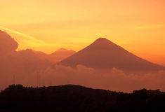 LATIN AMERICA GUATEMALA LAKE ATITLAN Royalty Free Stock Images