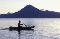 LATIN AMERICA GUATEMALA LAKE ATITLAN Royalty Free Stock Photo