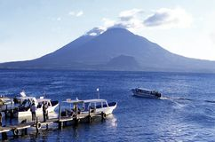 LATIN AMERICA GUATEMALA LAKE ATITLAN Stock Photos