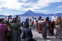 LATIN AMERICA GUATEMALA LAKE ATITLAN Royalty Free Stock Image