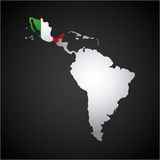 latin america map Stock Images