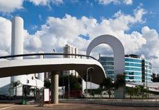 Latin America Memorial Sao Paulo Brazil stock photos